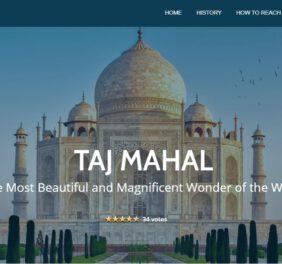 CSS Of Taj Mahal Cre...